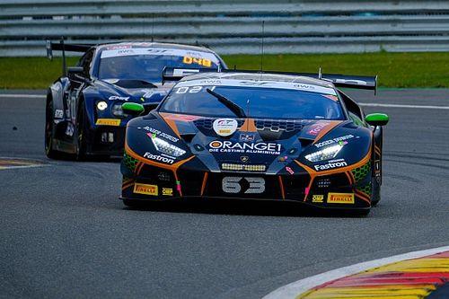 24h di Spa, 3a Ora: Lamborghini al comando su tutti
