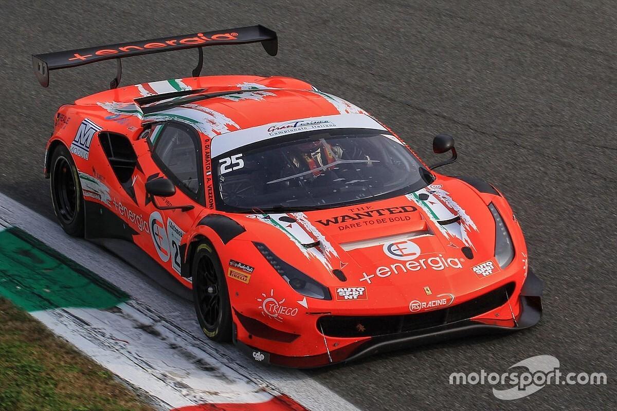 GT Italiano, Monza, Libere 2: Di Amato e Vezzoni in vetta