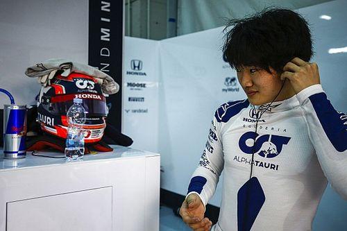 """F1初テストは""""いつも通り""""。角田裕毅インタビュー番組がDAZNで配信中"""