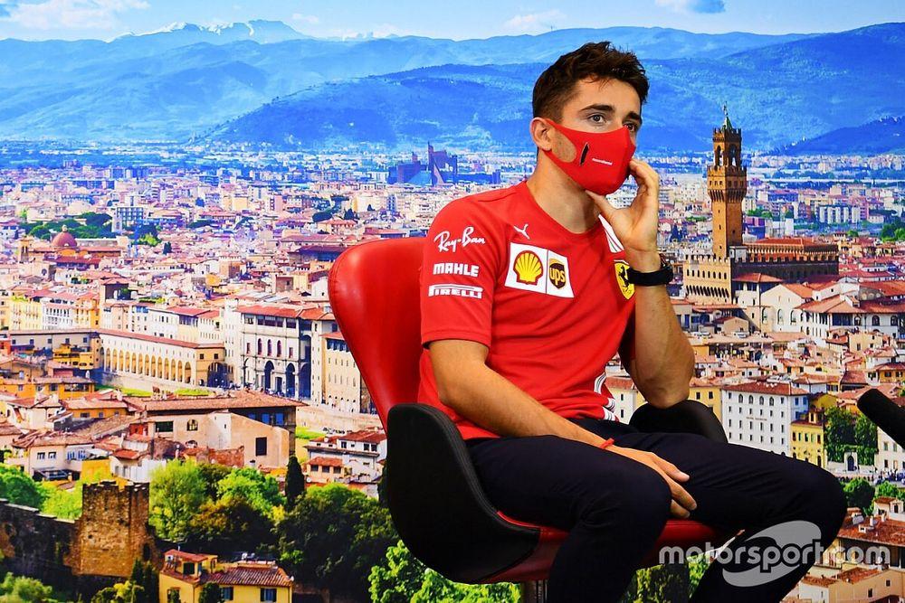F1: Leclerc diz que está sem efeitos colaterais após batida em Monza