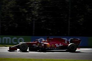 VIDEO: un trompo de Vettel en Monza, déjà vu de 2019