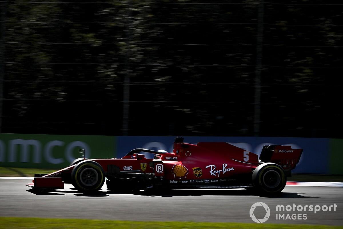 Vídeo: el trompo de Vettel en Monza, déjà vu de 2019