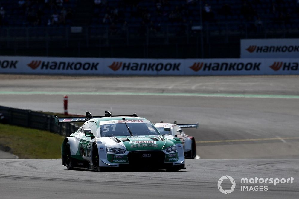 Nurburgring DTM: Muller beats title rivals to Sunday pole