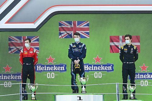 F2蒙扎次回合:迪克特姆获胜,周冠宇再遇机械故障