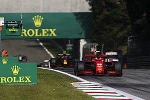 Italian GP red-flagged after big Leclerc crash