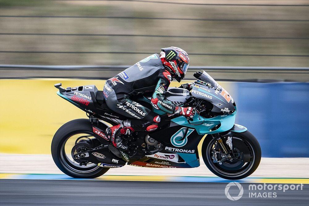 MotoGP: Quartararo é pole para o GP da França em Le Mans; Mir sai em 14º