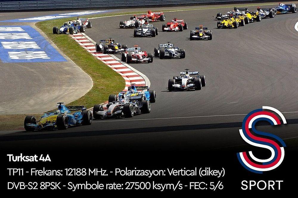 S Sport, 2021 Türkiye GP'yi şifresiz yayınlayacak!