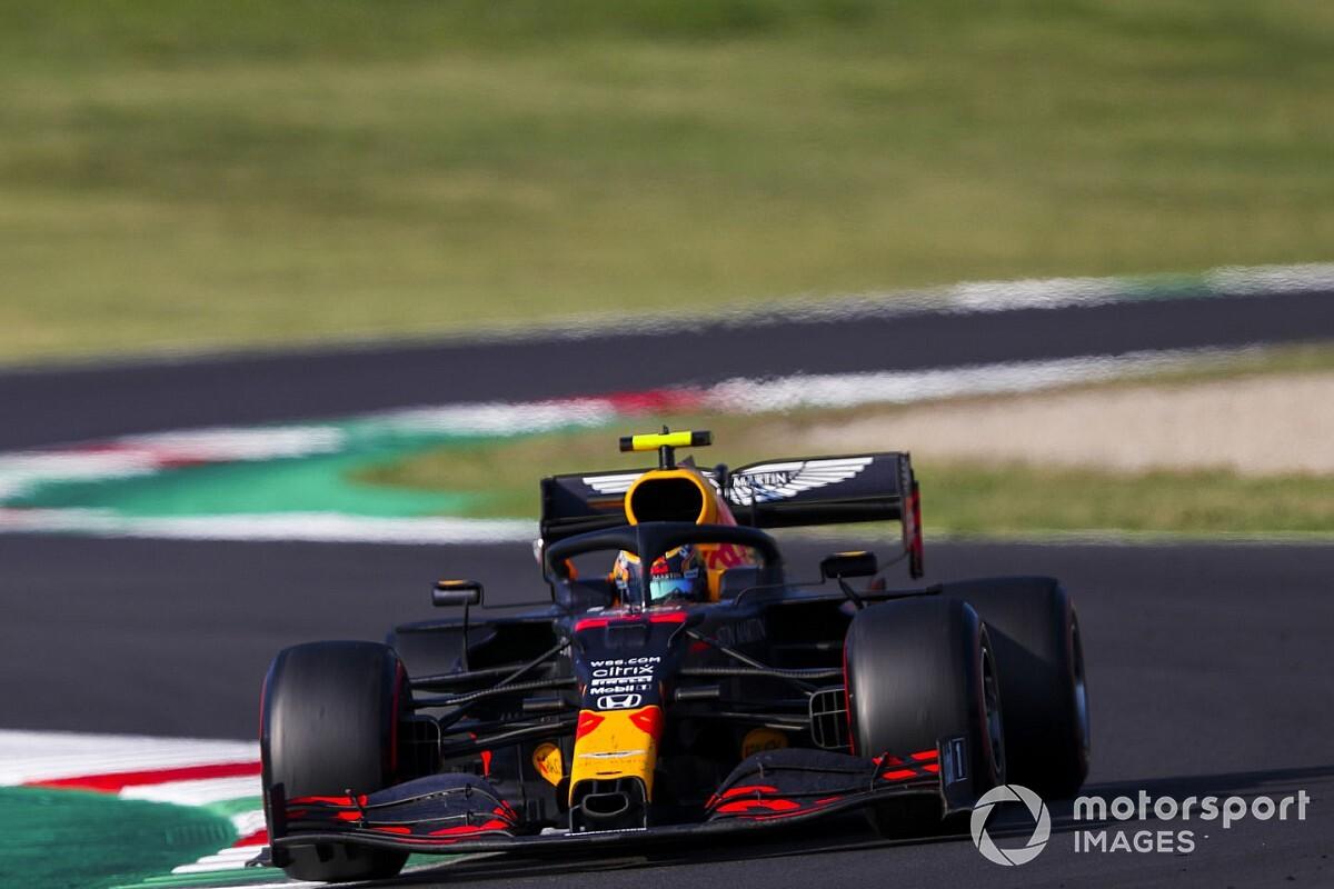 F1トスカーナGP決勝速報:ハミルトンが通算90勝目。アルボンが3位表彰台