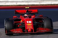 Leclerc, sorprendido por el buen rendimiento de Ferrari