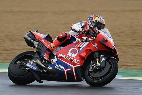 MotoGP, Europa, Libere 1: Miller sul bagnato, big indietro