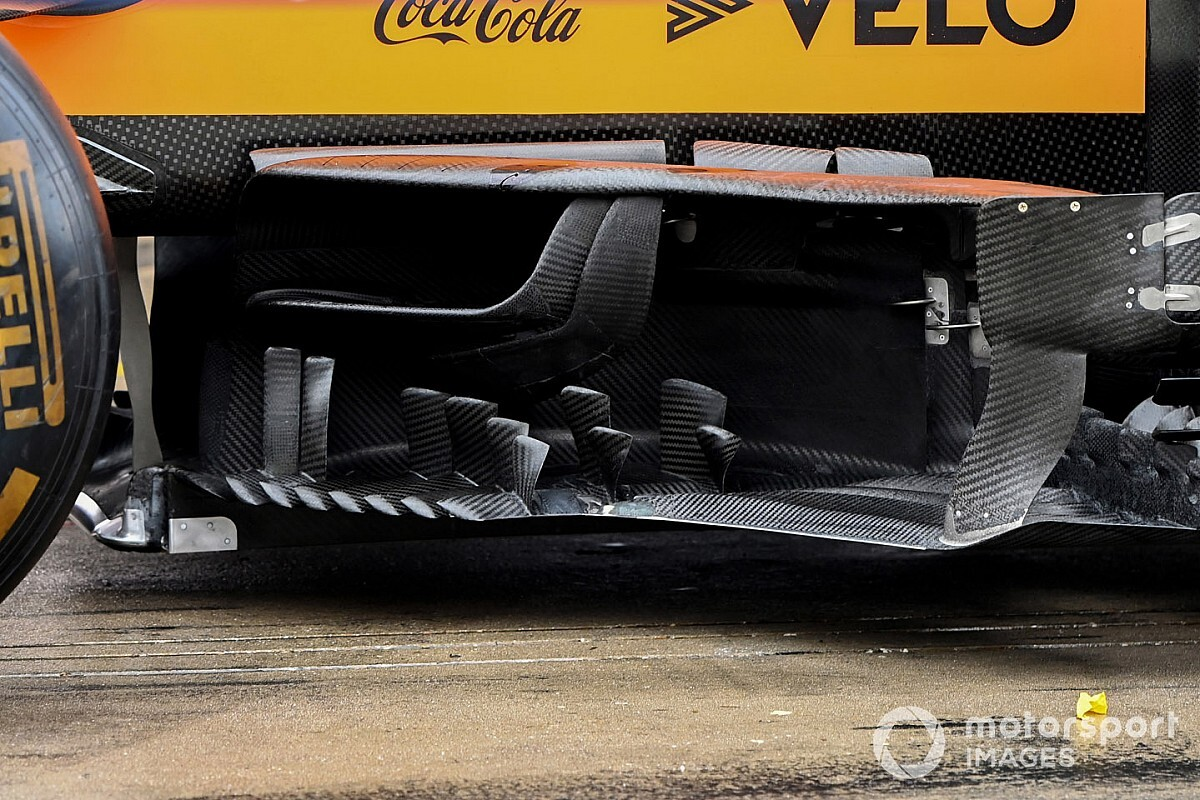 Formel-1-Technik: Detailfotos beim Eifel-Grand-Prix 2020 am Nürburgring
