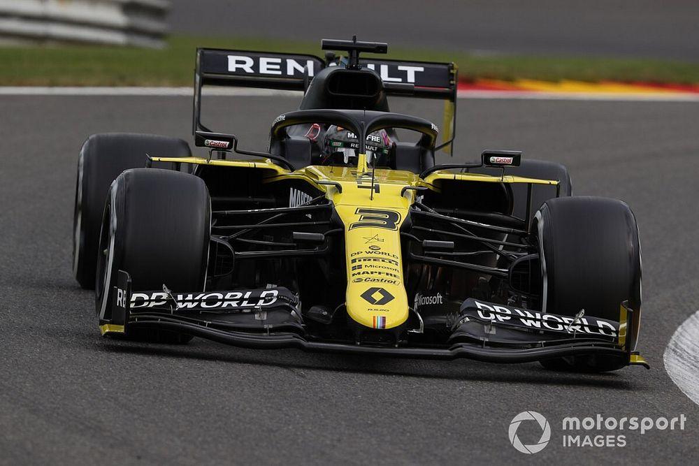 Ricciardo'nun motoru hasar görmemiş