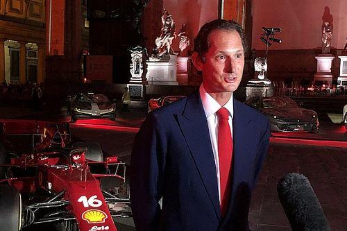 """Elkann acredita que Ferrari precisa ter humildade para """"recomeçar"""""""