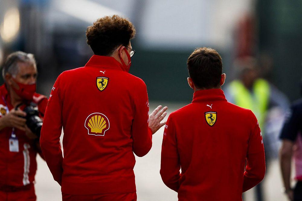 Ferrari жестко опровергла слухи о размолвке Бинотто с Леклером