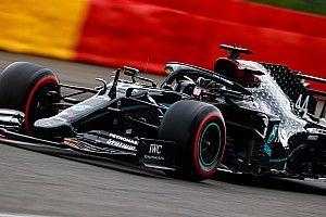 La grille de départ du GP de Belgique