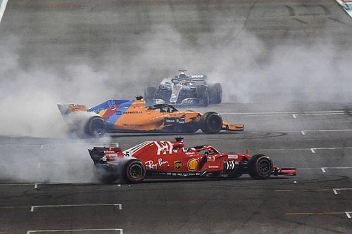 Abu Dhabi 2018: la emotiva despedida de Hamilton y Vettel a Alonso