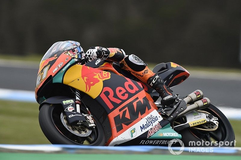Australian Moto2: Binder beats Mir to victory by 0.036s