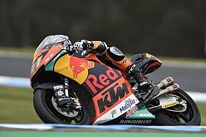 Australian Moto2: Binder beats Mir to victory by 0.036s