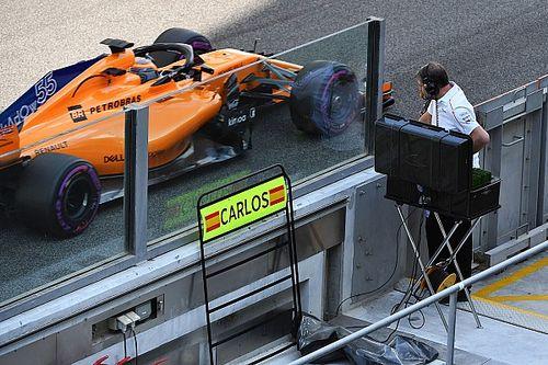 """Sainz: """"Salir del box con el McLaren fue un sueño hecho realidad"""""""