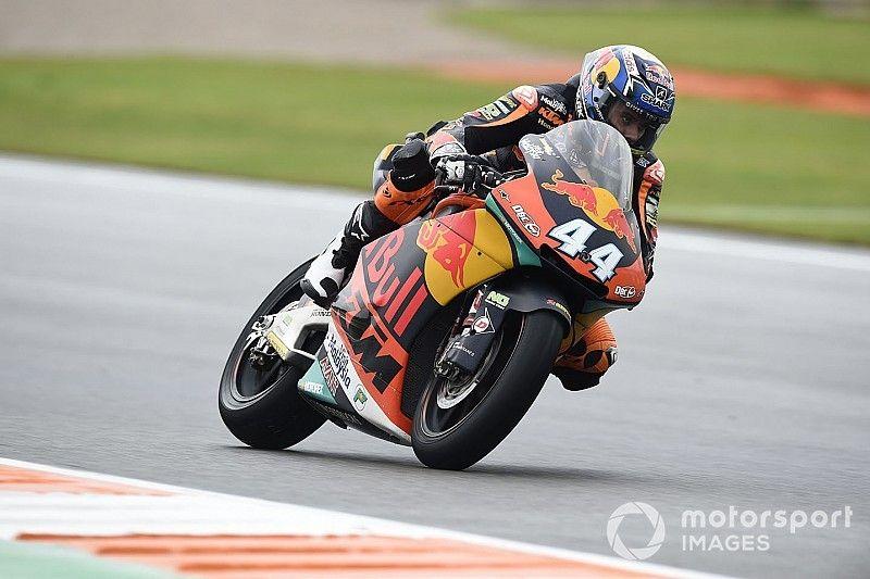Oliveira chiude in bellezza la sua avventura in Moto2 a Valencia. Primo podio di Lecuona