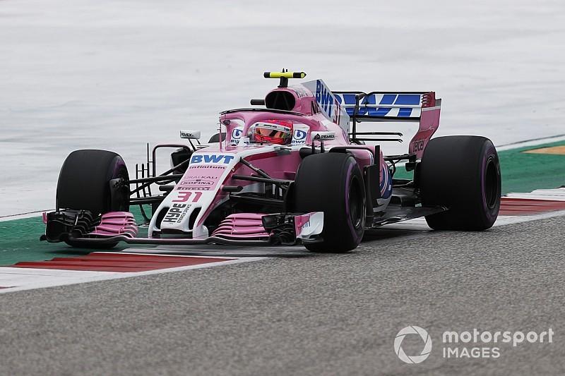 Force India: não houve vantagem obtida com infração de Ocon