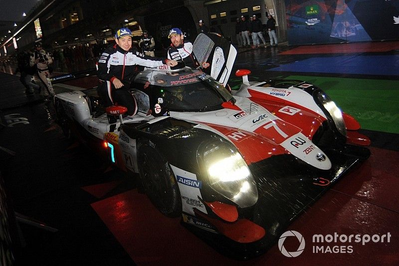 """Conway admits #7 Toyota """"lucked in"""" to Shanghai win"""