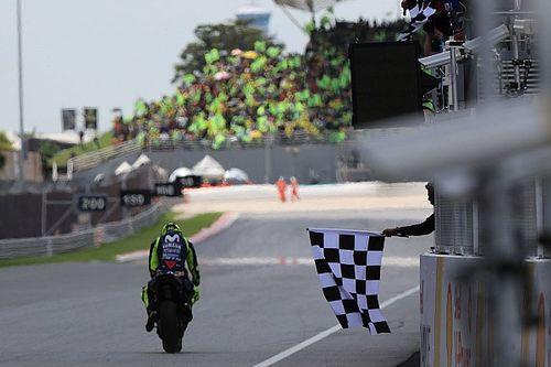 El semáforo del Gran Premio de Malasia de MotoGP