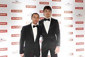 """Charles Leclerc élu """"Rookie de l'année"""" aux Autosport Awards"""