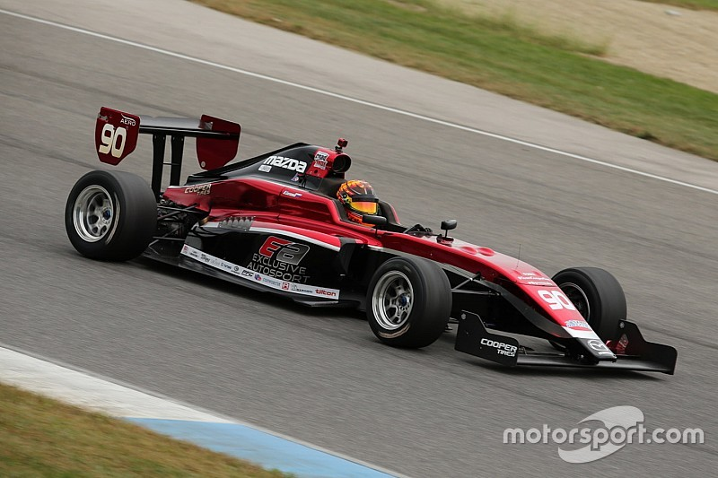 Lastochkin joins Exclusive for third Pro Mazda season