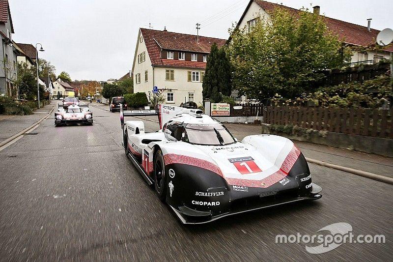 Über öffentliche Straßen: Porsche 919 Hybrid fährt ins Museum