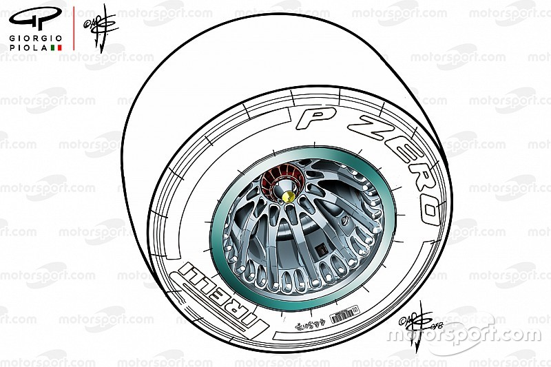 FIA autoriza Mercedes a usar novas rodas no México