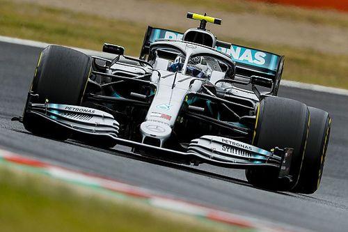 日本大奖赛FP2:梅赛德斯继续包揽前二,博塔斯高举头名