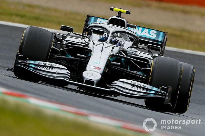 Japonya GP 2. antrenman: Bottas, Hamilton'ın önünde lider