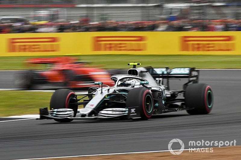 Bottas se apunta en Silverstone su 10ª pole; Ferrari se la juega