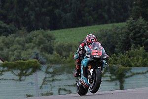 Secoué par la Yamaha, Quartararo s'est déboîté l'épaule