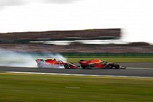 VIDEO: Así fue el choque de Vettel y Verstappen