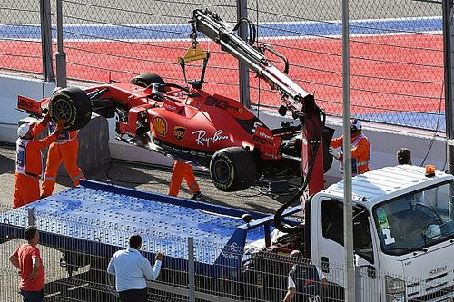Ferrari: surriscaldamento a causa dello stop di Sochi