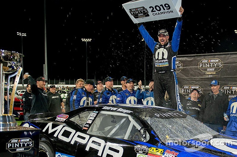 Andrew Ranger wins his third NASCAR Pinty's Series title