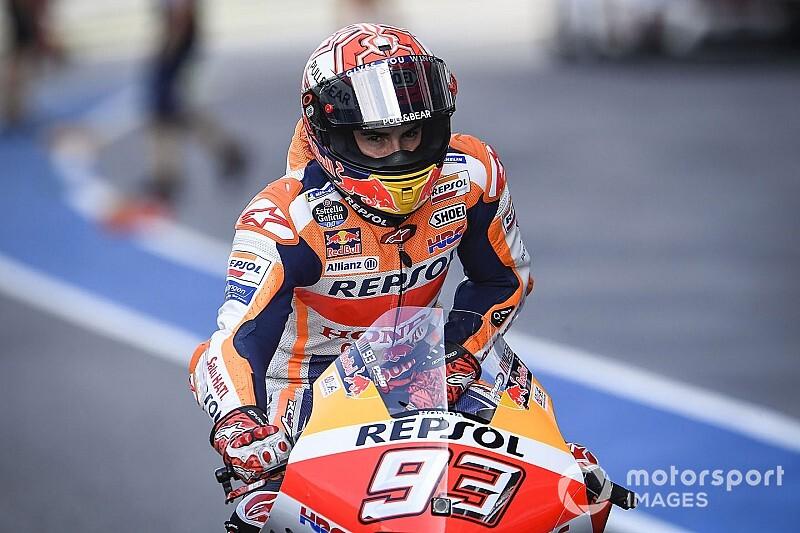 Warm-up - Márquez devance un groupe de quatre Yamaha
