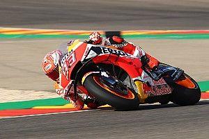 """MotoGP, Aragon, Libere 1: Marquez mostruoso, rifila 1""""6 a Vinales"""