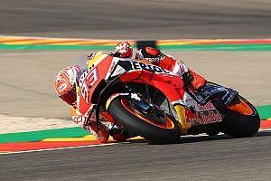 Aragon MotoGP: Marquez 1.6s clear in first practice
