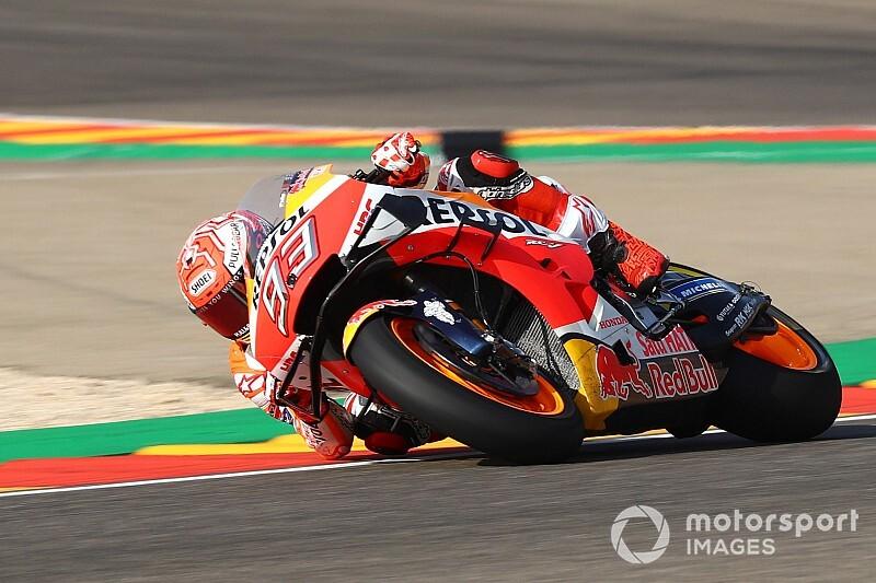 Aragon MotoGP: 1. antrenmanda Marquez 1.6 sn farkla lider