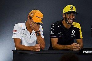 """Ricciardo content d'avoir des """"petits mioches"""" comme équipiers"""