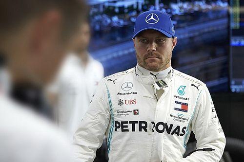 Bottas culpa a Hamilton de su 5º puesto en Singapur