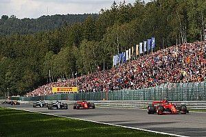 75.000 fans met Covid Safe Ticket welkom bij F1 GP België op Spa