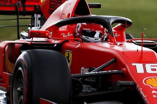"""Leclerc: """"Ferrari fatica sul passo gara con le gomme anteriori"""""""