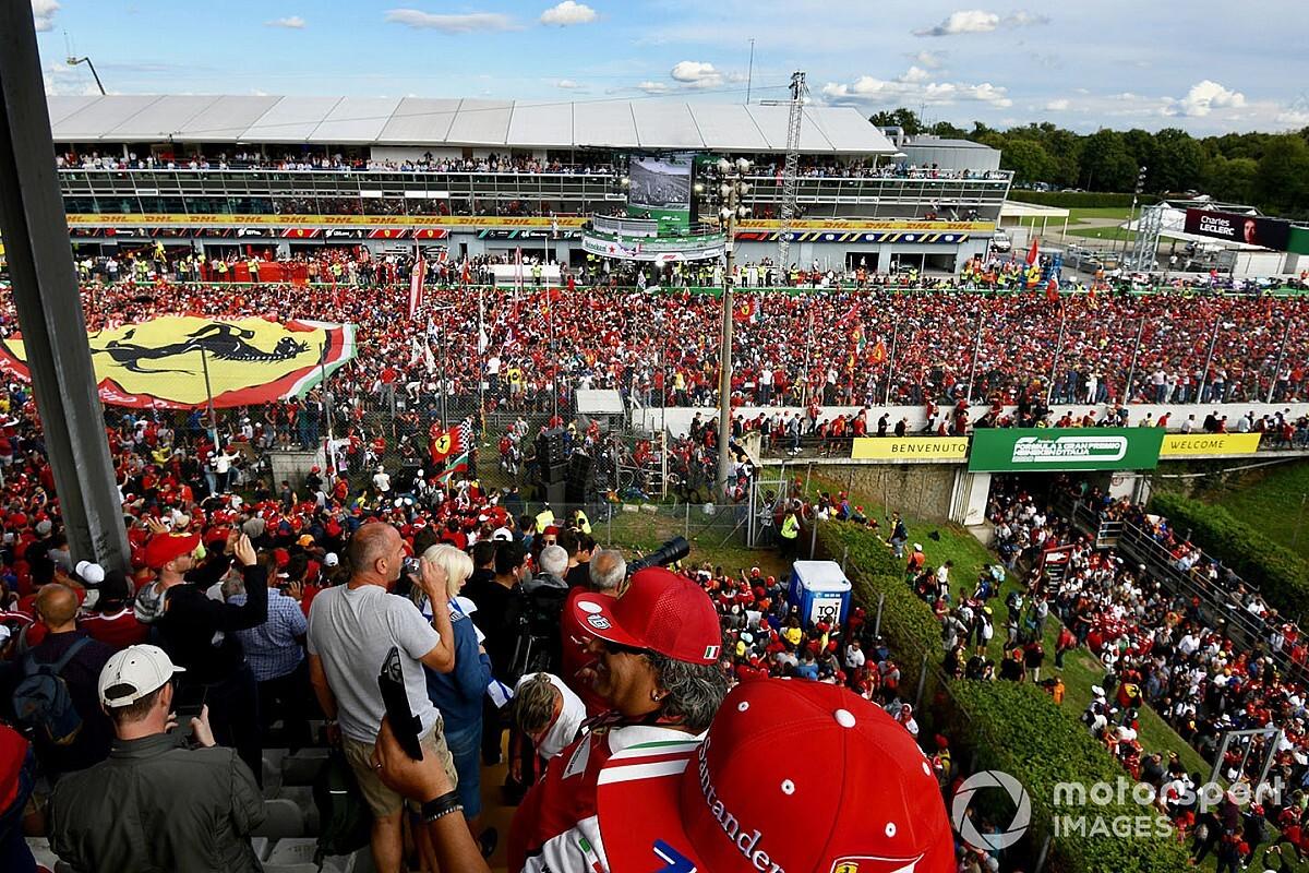 """F1, ufficiale: Monza a porte chiuse, niente """"marea Rossa"""""""