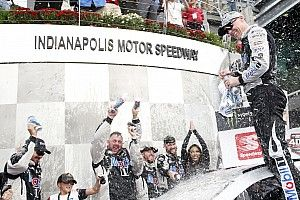 Kevin Harvick tops Logano for second Brickyard 400 victory