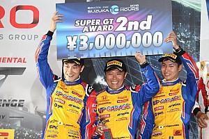 牧野任祐、鈴鹿10Hでの表彰台で新たな決意「次は総合結果でここに立ちたい」