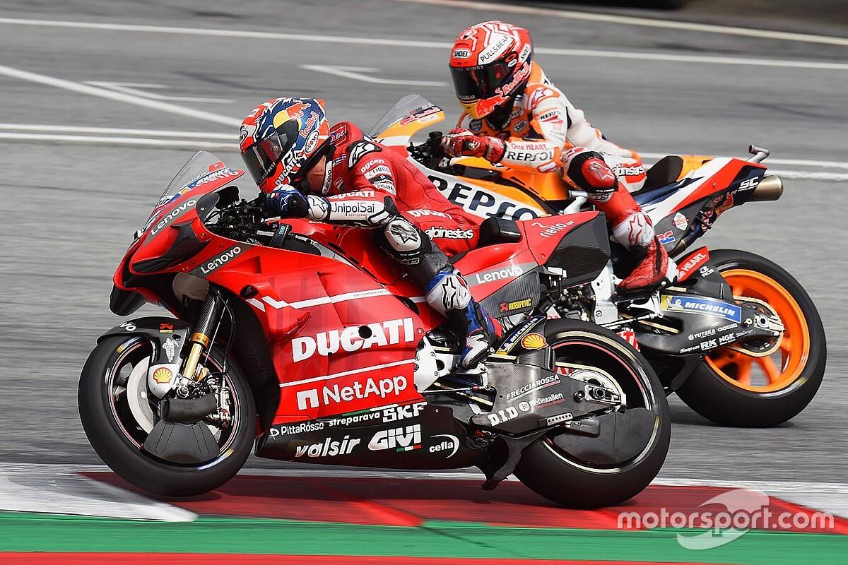 Ducati : Márquez est là, alors il faut le battre